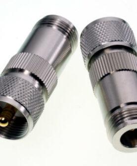 Adapter N-Kuppler / UHF-Stecker